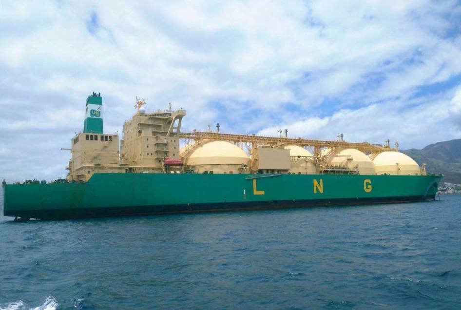 Nigeria LNG es un buen cliente del puerto de Santa Cruz de Tenerife