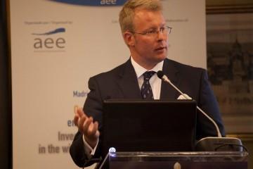Pekka Tolonen, en una intervención organizada por la AEE
