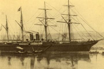 "Estampa marinera del segundo ""Alfonso XII"""