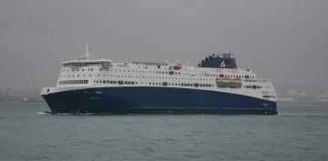 """El ferry """"Nova Star"""" cubre la línea Tánger Med-Algeciras"""