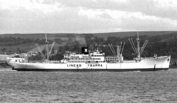 """La elegante estampa marinera del buque """"Balboa"""", exponente  de otra época"""