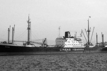 """En su etapa al servicio de Ybarra navegó con el nombre de """"Bayano"""""""