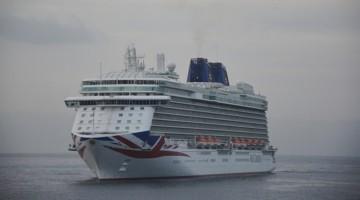 """El buque """"Britannia"""" hará mañana su primera escala en La Palma"""