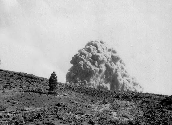 La mañana del 24 de junio de 1949 comenzó la historia del volcán de San Juan