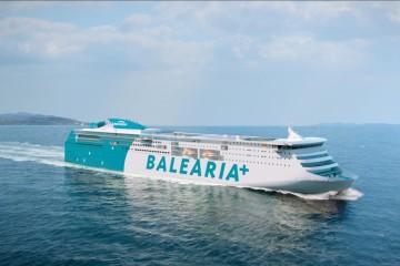 Este será el aspecto externo del primer ferry dual de Balearia