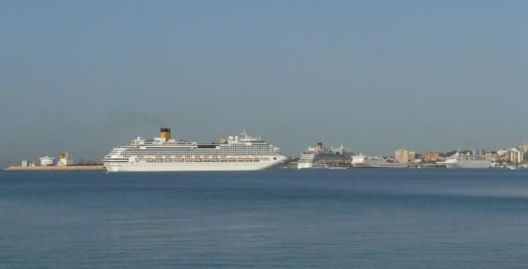 Costa Crociere es un cliente importante del puerto de Palma de Mallorca