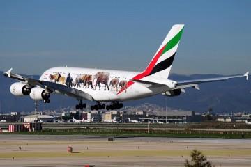 Emirates tiene la mayor flota de Airbus A380 del mundo