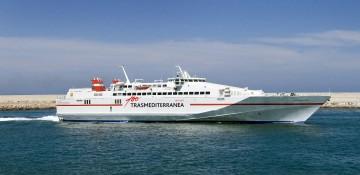 """El fast-ferry """"Almudaina Dos!"""" reforzará la línea Málaga-Melilla"""