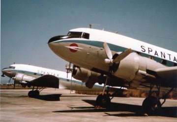 Aviones Douglas DC-3 de Spantax