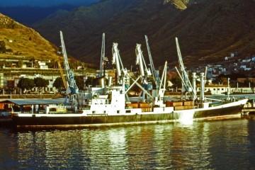 """El buque """"Belén"""", atracado en el puerto de Santa Cruz de Tenerife"""