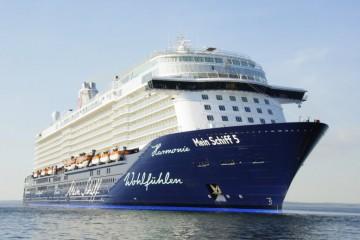 """El buque """"Mein Schiff 5"""" es el segundo de una serie de cuatro buques gemelos"""