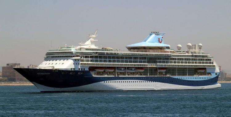 """Esta es la nueva imagen del buque """"Tui Discovery"""""""