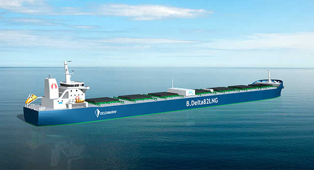 """Aspecto exterior del buque """"Project Forward"""""""