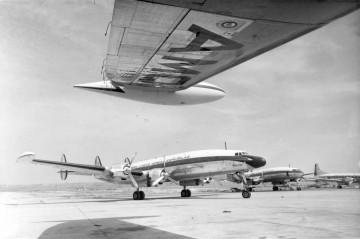 Lockheed L-1049C Super Constellation, uno de los aviones emblemáticos y el más bello de Iberia
