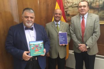De izq. a dcha: Antonio Padrón,  Horacio G. Vázquez y Rafael Rodríguez