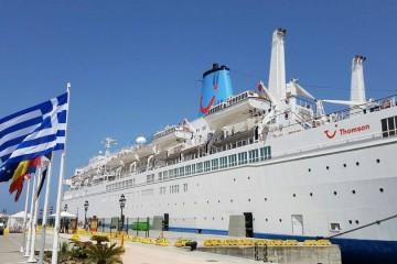 """El puerto de Ceuta ha recibido hoy una nueva escala del buque """"Thomson  Spirit"""""""