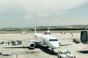 Air Europa Express tiene una flota de once aviones Embraer
