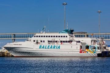 """El incidente sucedió el domingo a bordo del buque """"Formentera Direct"""""""