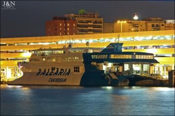 """El catamarán """"Pinar del Río"""" se encuentra en Algeciras, tras su llegada de Bahamas"""