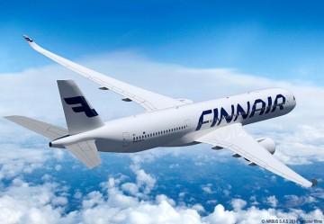 Finnair ya dispone de nueve de 19 aviones Airbus A-350