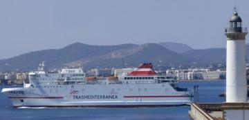 """El buque """"Juan J. Sister"""" es uno de los mejores barcos que tiene Trasmediterránea"""