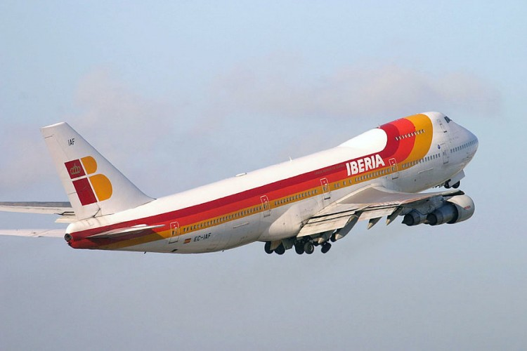 El avión B-747 Jumbo fue emblema e icono de Iberia