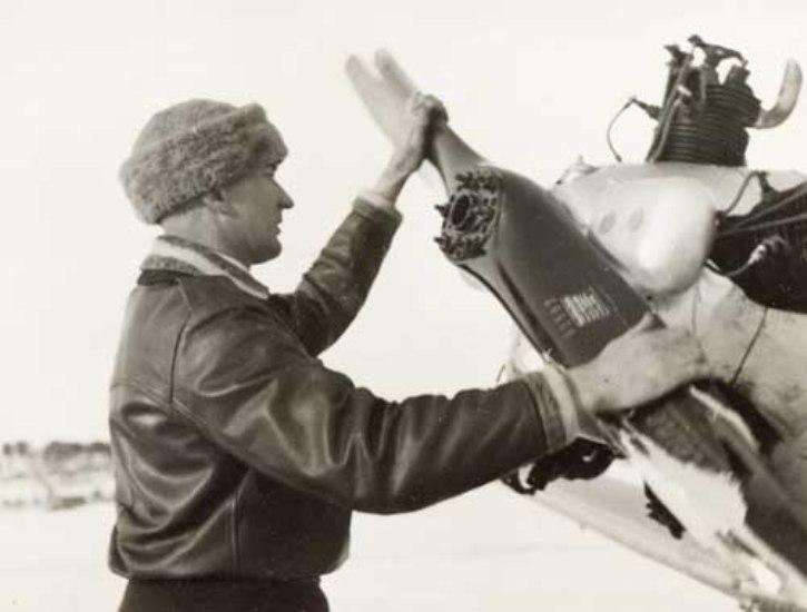 Väinö Bremer es una figura legendaria de la Aviación de Finlandia