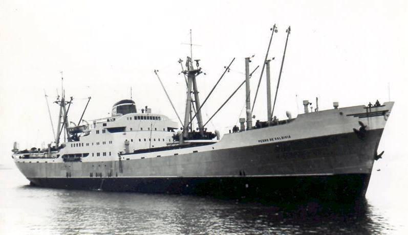 La vida marinera del buque «Pedro de Valdivia» (1957-1964 ...