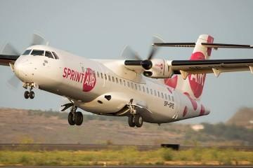 La llamativa librea del avión polaco alquilado por Canaryfly