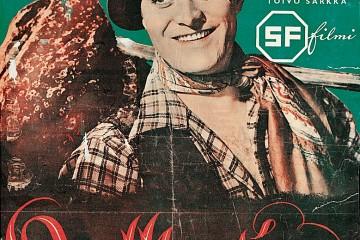 "Cartel de la película ""Kulkurin Valssi"" (1941)"
