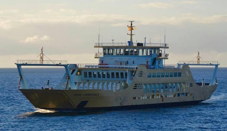 """El buque """"""""Agios Lavrentios II"""" es del tipo """"double ended open"""""""