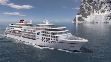 Este será el aspecto exterior de los nuevos buques de Hapag Lloyd Cruises