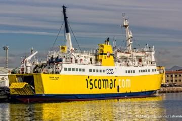 """El ferry """"Nura Nova"""" quedará amarrado la noche del próximo 11 de septiembre"""