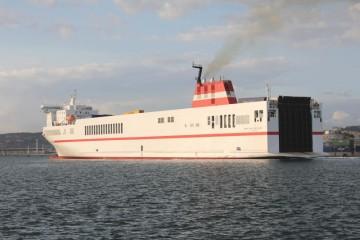 """El buque """"Superfast Baleares"""", fletado en tráficos del norte de Europa"""