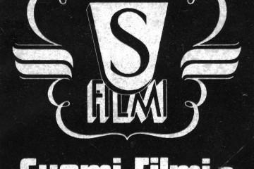 Logotipo de Suomi-Filmi. Todo un referente en el cine finlandés