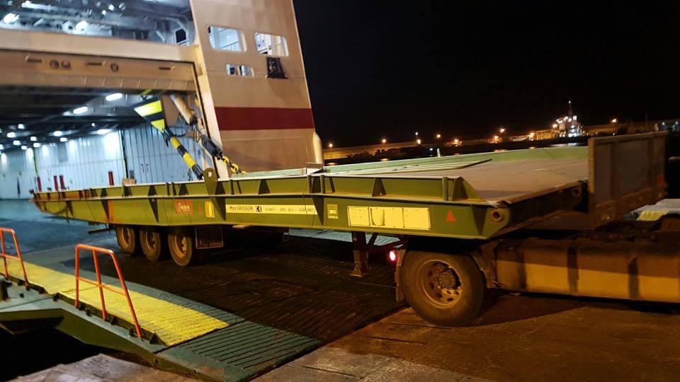 Con la segunda rampa móvil mejorará la operativa en el puerto ceutí