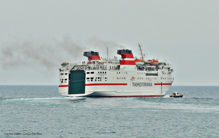 "El buque ""Las Palmas de Gran Canaria"" pasa a cubrir la línea Algeciras-Tánger"