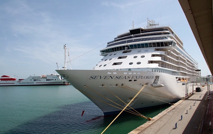 """El buque """"Seven Seas Explorer"""" está considerado el más lujoso del mundo"""