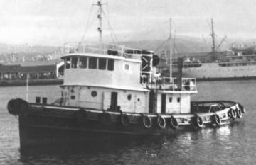 """El remolcador """"Castillejos"""", en el puerto de Las Palmas"""