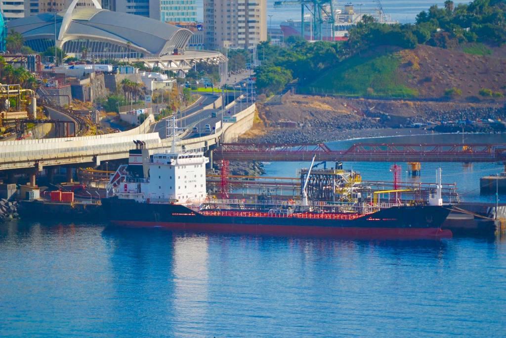 El buque es propiedad de una sociedad mixta hispano-británica