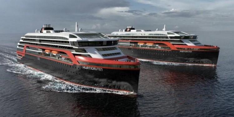 En el diseño de los nuevos buques interviene Rolls Royce y Espen Øino