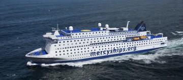 """Este será el aspecto externo del buque-hospital """"Atlantic Mercy"""""""