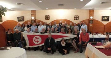 Foto de familia del encuentro celebrado en el puerto deportivo de Mataró
