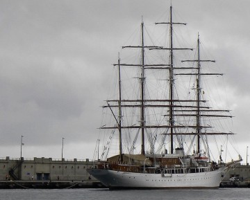 "El buque ""Sea Cloud"" es un yate octogenario"