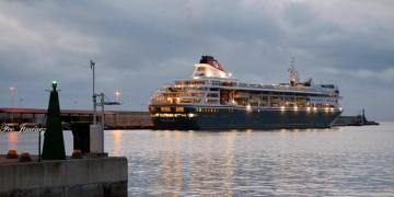 """El buque """"Braemar"""" amaneció en Santa Cruz de La Palma"""