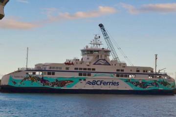 """El buque """"Salish Orca"""" continuará mañana su largo viaje de entrega"""