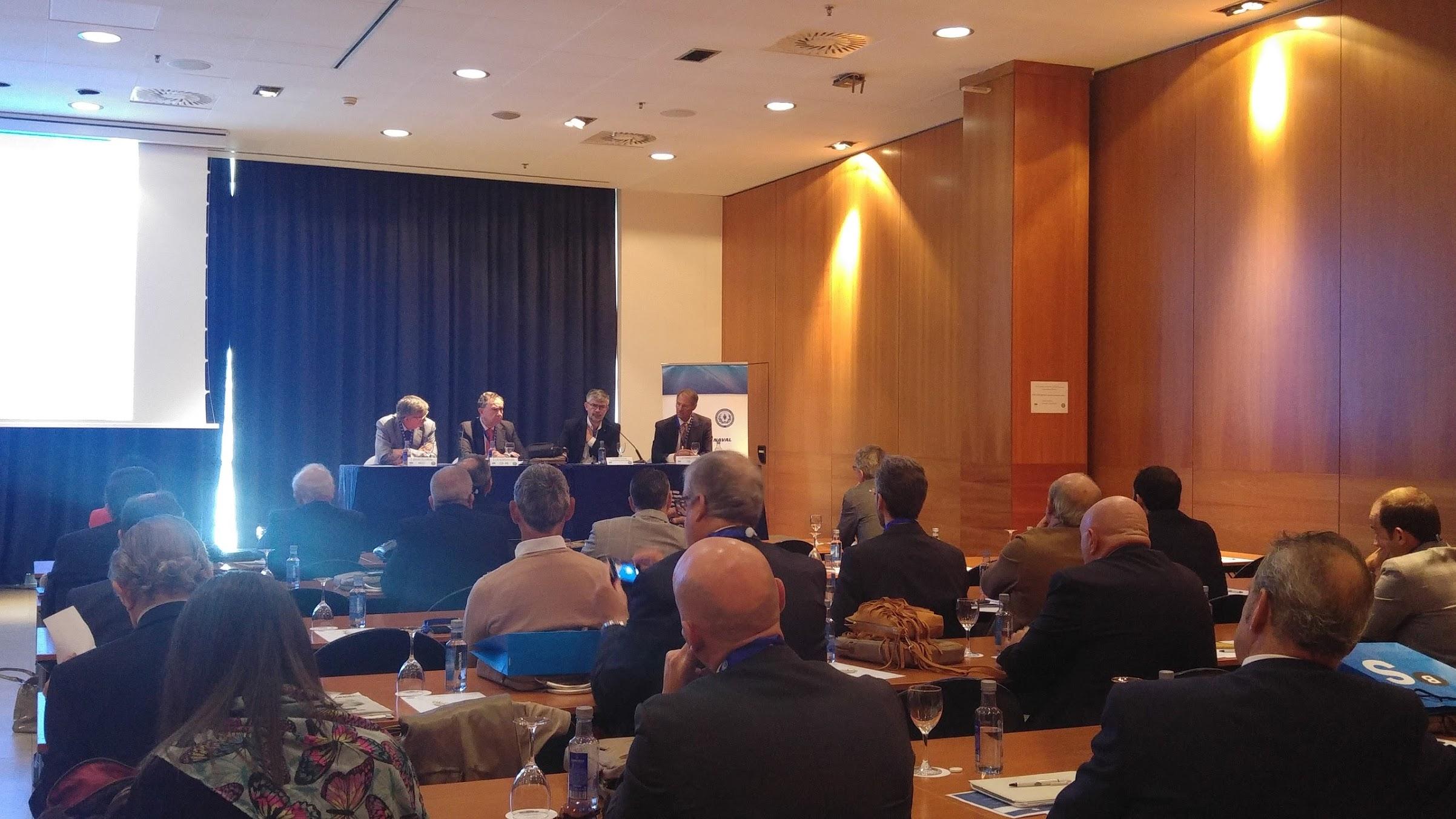 Sesión inaugural del 55º Congreso de la Asociación de Ingenieros Navales y Oceánicos de España