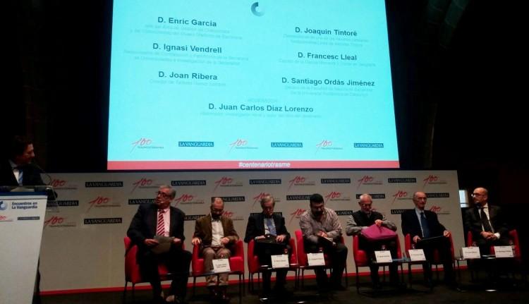 """El debate de """"Encuentros en La Vanguardia"""" estuvo dedicado al centenario de Trasmediterránea"""