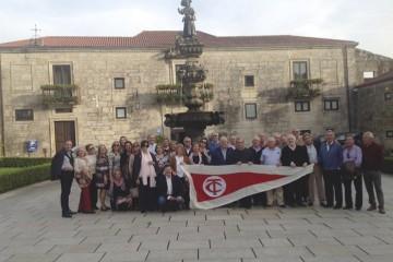 Foto de familia del encuentro anual de Trasmediterránea 2016