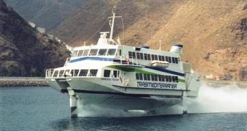 El jet-foil fue uno de los emblemas de Trasmediterránea durante 25 años